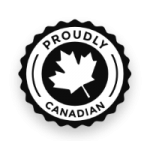 Proudly Canadian Badge
